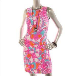 Lilly Pulitzer Women Cut Out Back Soft Shift Dress